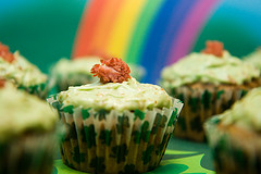 Corned Beef and Cabbage Cupcakes